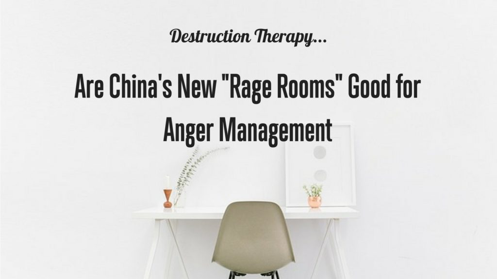 The new the new trend of rage rooms