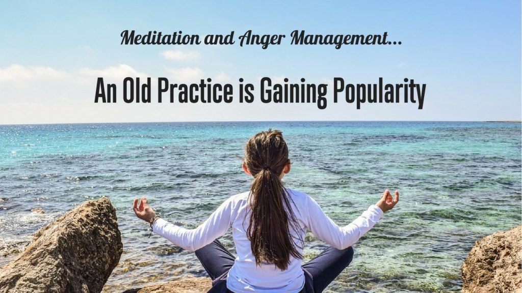 Anger management using meditation